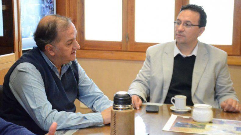 Linares y Maderna acordaron proyectos  en conjunto entre Comodoro y Trelew