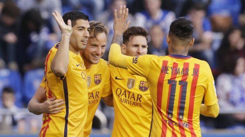 Barcelona se recuperó con una aplastante victoria
