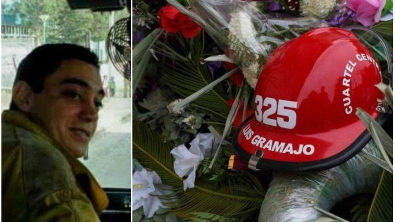 Recordaron al bombero Gramajo a un mes de su muerte