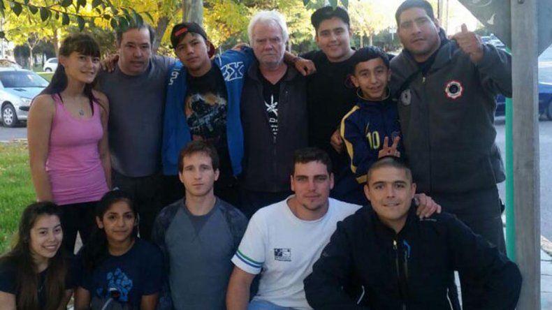 La delegación de Chubut que se trajo cinco medallas de Catamarca.