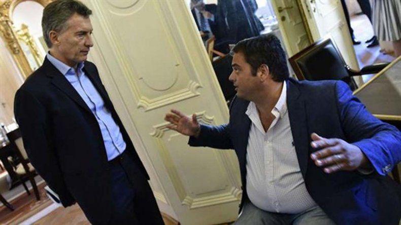 Macri y Triaca salieron ayer a cuestionar la ley que cuida el empleo.