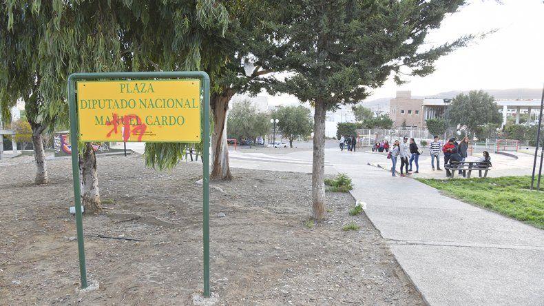 El robo sucedió en la plaza Manuel Cardo