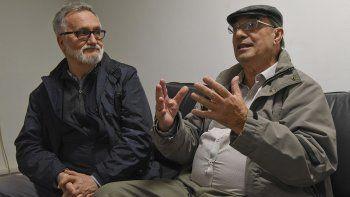 Xavier Alcalá y Manuel Antonio Rey Flórez trabajan en una novela que recrea aspectos poco conocidos de la historia de Comodoro Rivadavia.