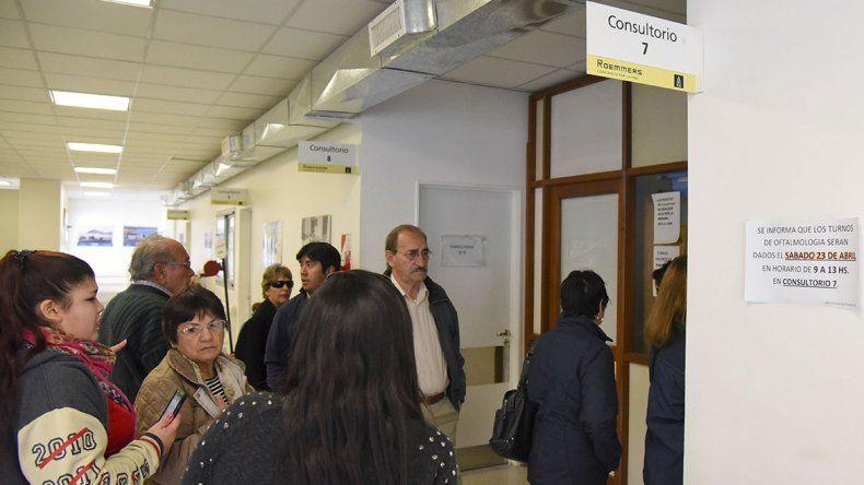 En el Hospital Alvear no todos piensan como el director con respecto al sistema de turnos.