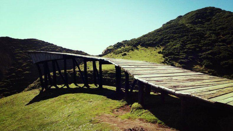 El mágico Muelle de  las Almas en Chiloé