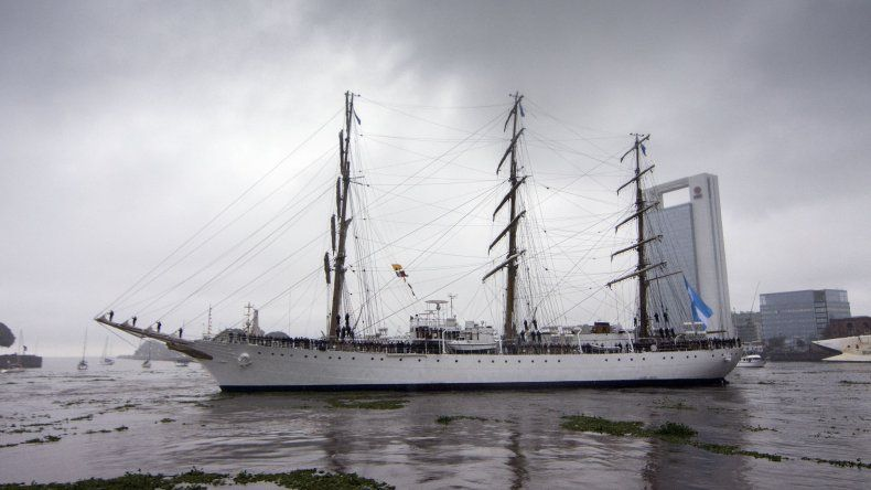 La Fragata Libertad  llegará a puerto inglés por primera vez en 14 años