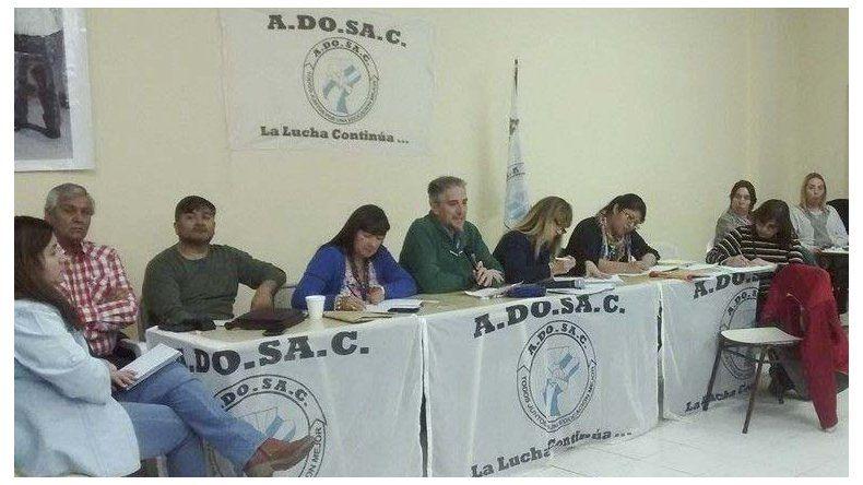 Los principales ejes del debate durante el congreso docente fueron los efectos y las consecuencias de la conciliación.