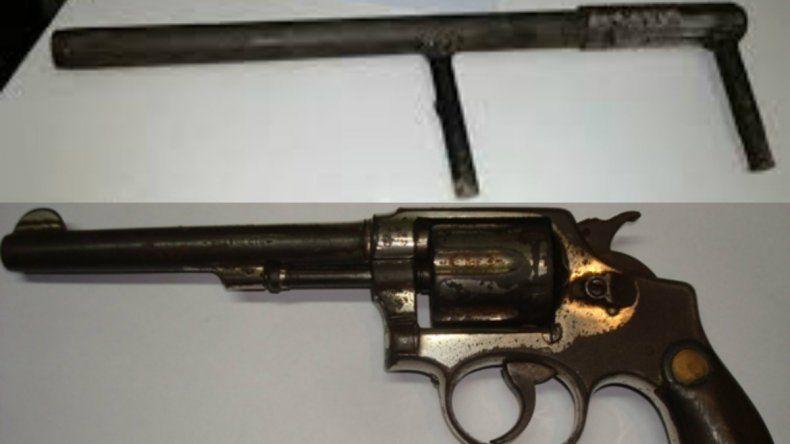 Hubo tres detenciones y se retiraron de circulación dos armas de fuego
