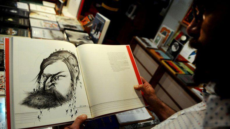 Los libros ilustrados son contemplados como obras de arte.