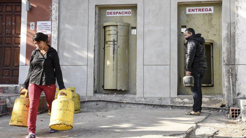 Quienes consumen gas envasado se encontraron con el aumento de precio.