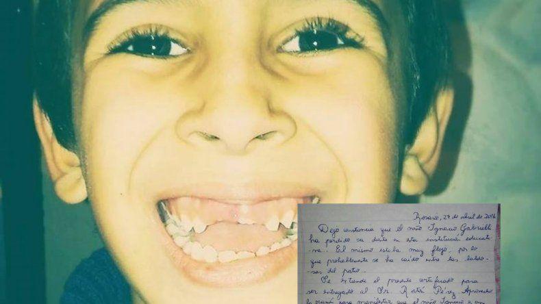 Tras la carta de la maestra, el Ratón Pérez le llevó $400 al nene rosarino