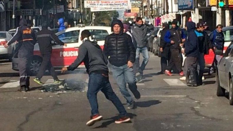 Disturbios en el Concejo Deliberante de Lanús