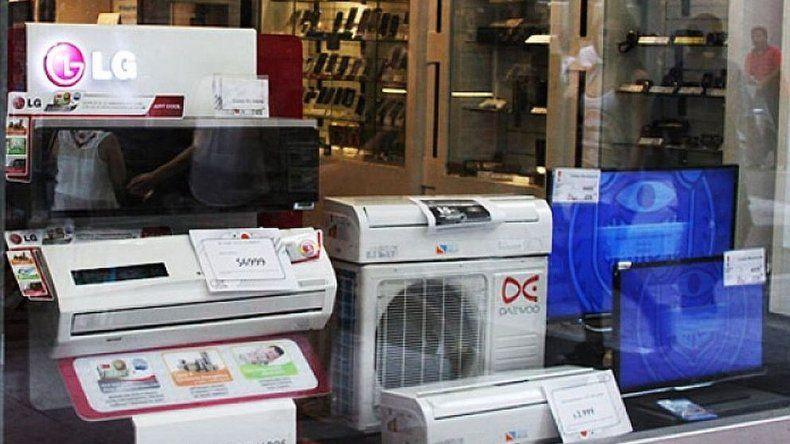 Las ventas bajaron 6,6% y el rubro electrodoméstico fue el más afectado