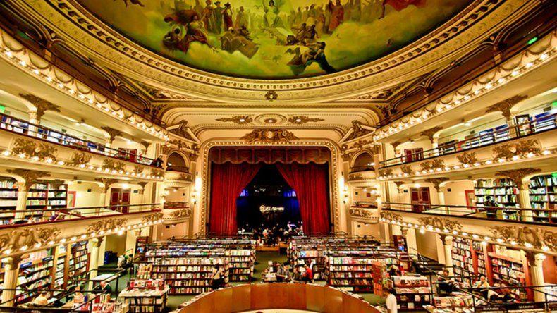El Ateneo Grand Splendid, entre  las librerías más bonitas del mundo
