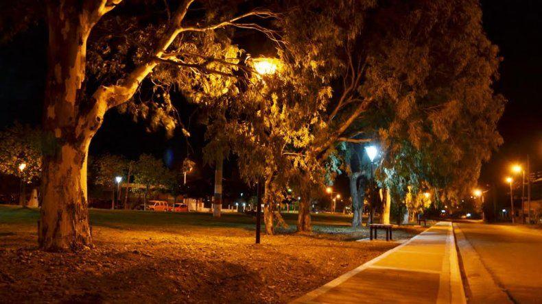 En los últimos meses se iluminaron tres espacios públicos en el barrio Ciudadela.