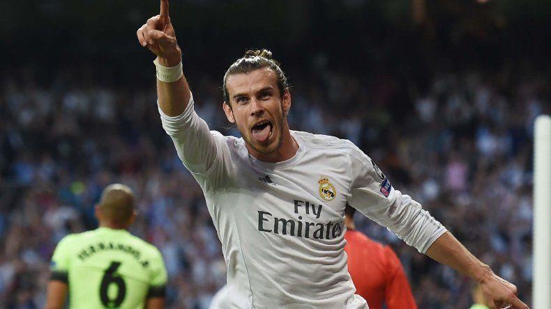 El galés Gareth Bale anotó el gol para el Real Madrid.
