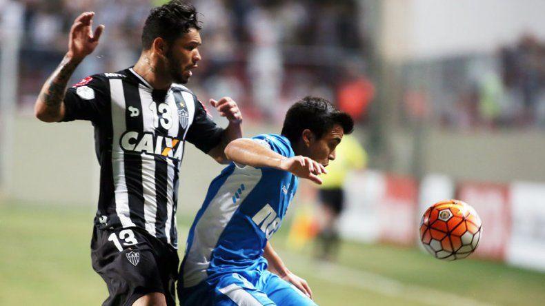 Racing perdió con Atlético Mineiro y quedó eliminado