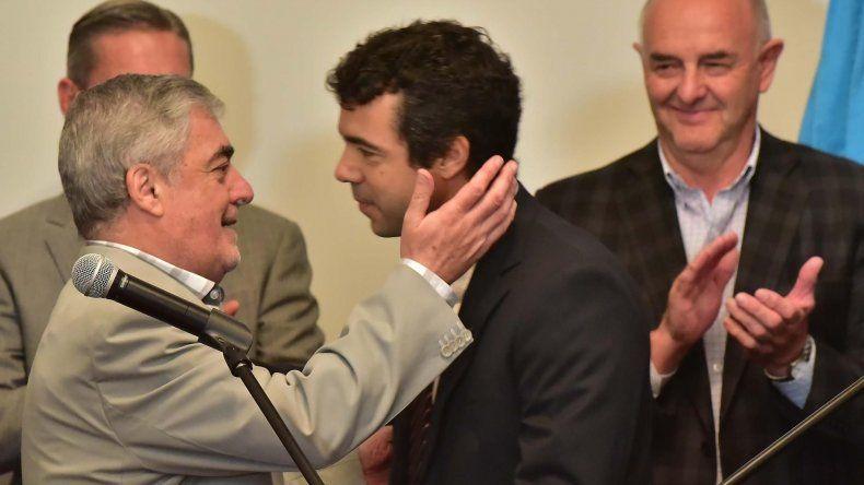 Pablo Korn asumió ayer como nuevo subsecretario de Servicios Públicos en reemplazo de José Olveira