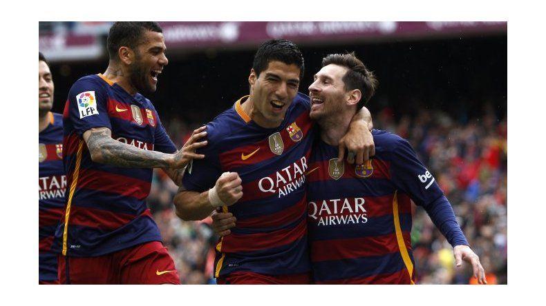 El Barcelona goleó en el clásico al Espanyol