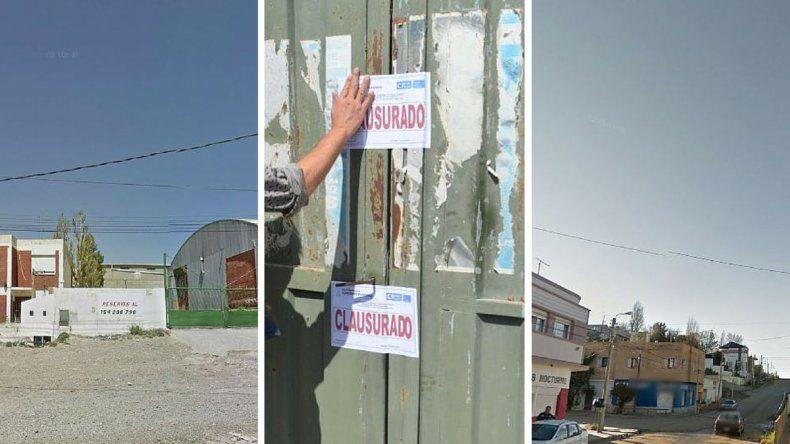 Operativos: hubo cuatro clausuras en distintos puntos de Comodoro