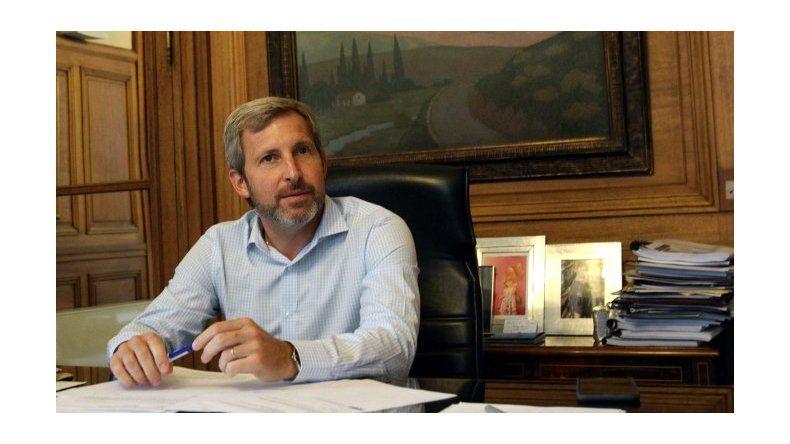 Frigerio: Si el proyecto de ley es aprobado tal como está, el presidente lo vetará