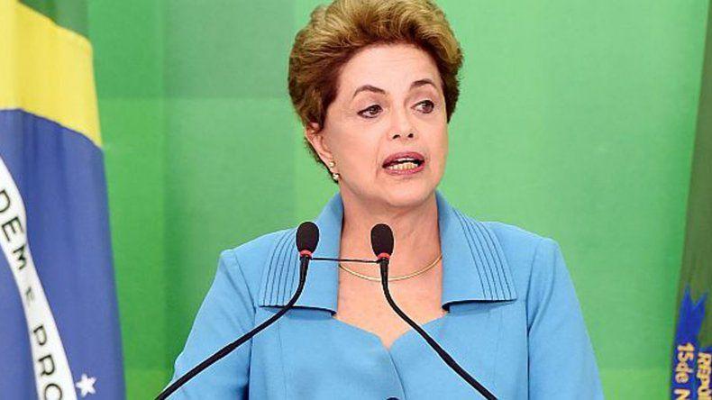 El Senado decide hoy si suspende a Rousseff al frente de la Presidencia.