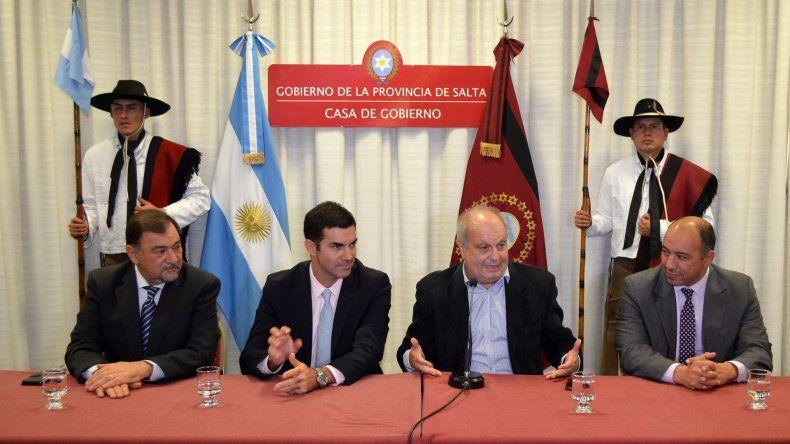Lombardi y Urtubey anunciaron la presentación de Tecnópolis Federal.