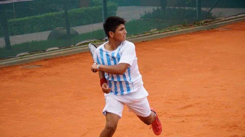 Gabriel Mamani cumplió una destacada actuación en Asunción