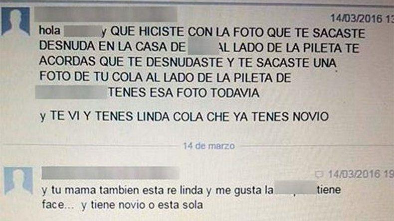 El papá de una nena denunció a un hombre que la acosaba por Facebook