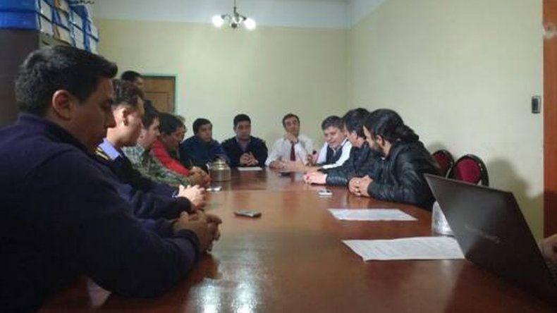 Los gremios de la construcción firmaron un acuerdo de paz social