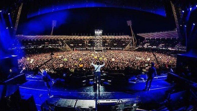Paul McCartney tocó en Córdoba: ¡Hola culiados!