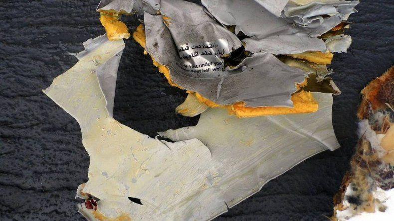 Encontraron las cajas negras del vuelo de Egyptair