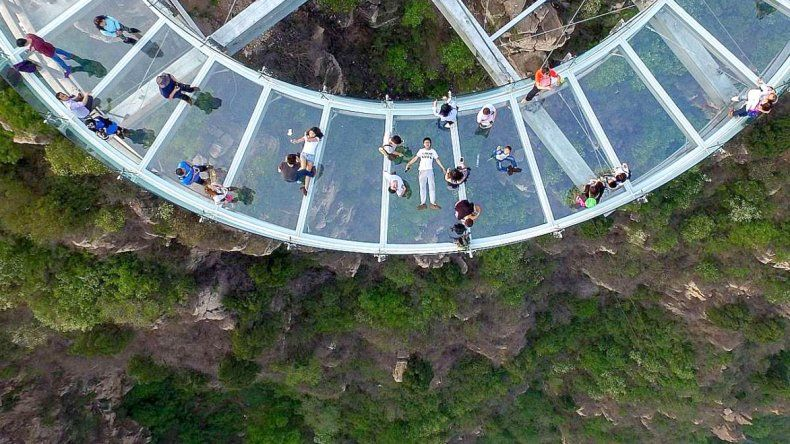 China superó los límites con el mayor mirador de cristal del mundo