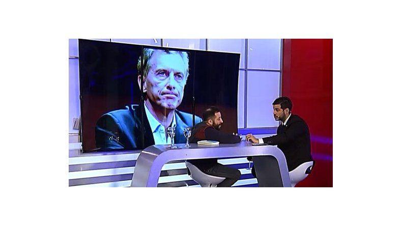 Ottavis en C5N: Macri es el Capitán Veto, pero va por la cloacas