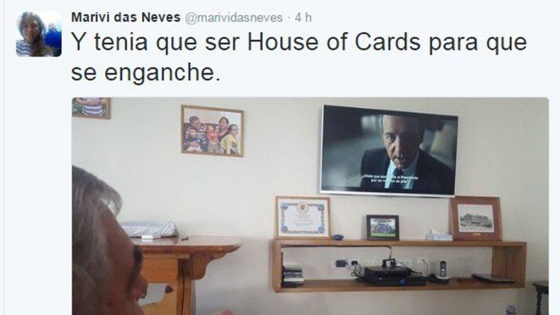 Para el final dejamos el tuit de la subsecretaria María Victoria Das Neves que retrató a su padre
