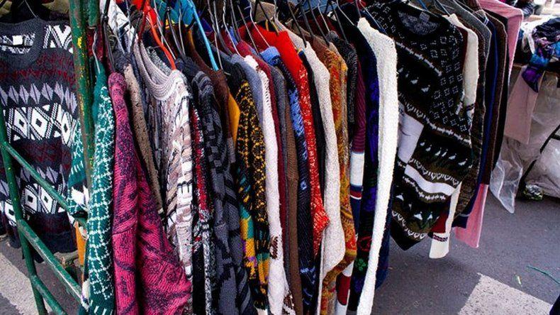 Creció más de un 30 por ciento la venta de ropa usada en el país