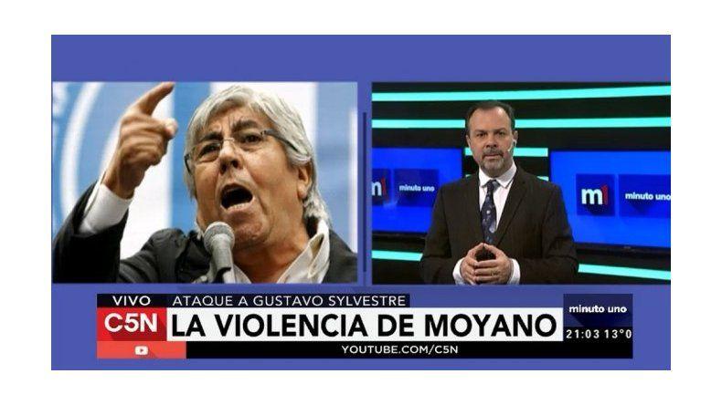 El Gato Sylvestre le contestó a Moyano: Le molesta que muestre la cara de los despedidos