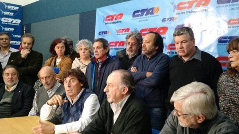 Micheli y Yasky ratifican marcha del 2 de junio contra medidas del gobierno.