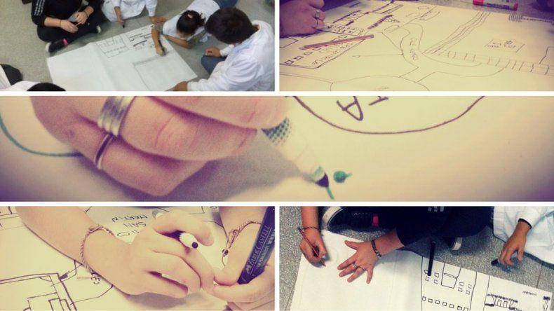 Realizan cartografías sociales para conocer las problemáticas de los barrios