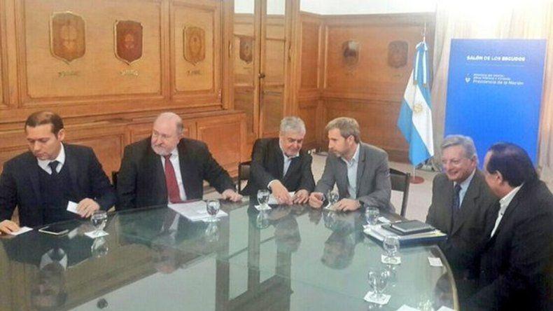 Se reunieron gobernadores patagónicos con Frigerio y  mañana habrá anuncios