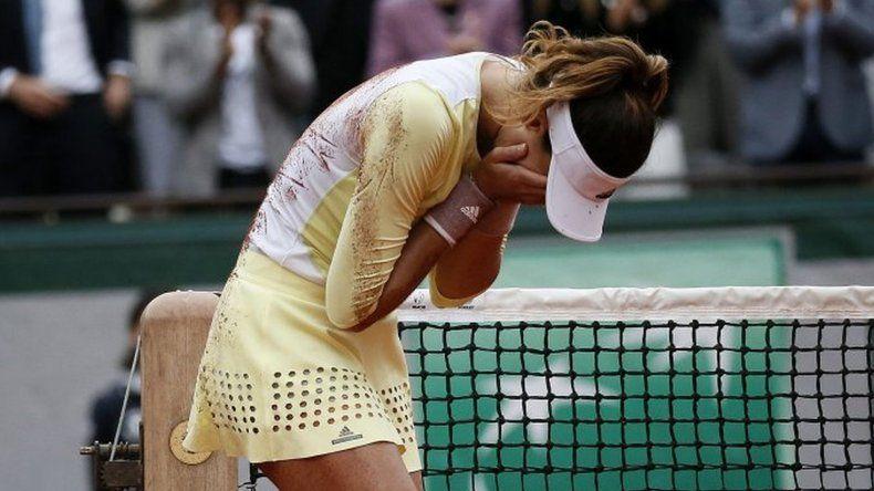 Inesperado: Garbiñe Muguruza le ganó una final a Serena Williams