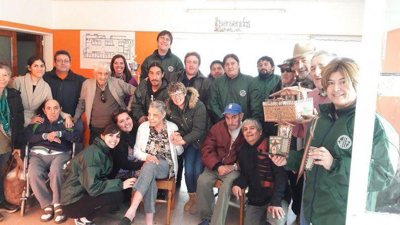 Una postal luego de la Gran Corrida Solidaria que se realizó el sábado.