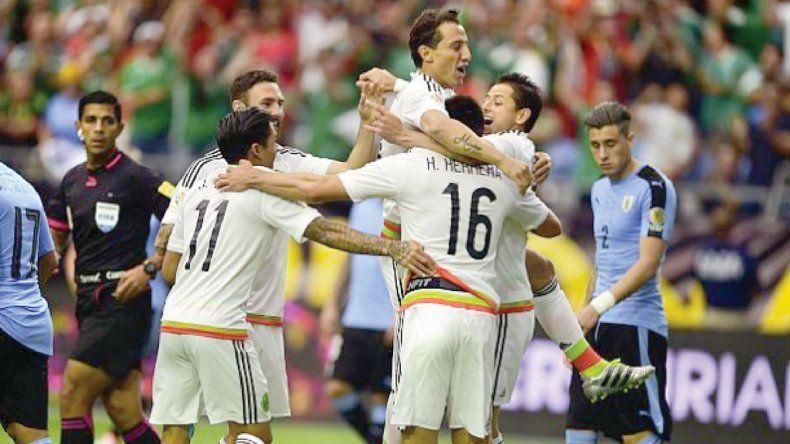 México se quedó con la victoria anoche ante Uruguay.