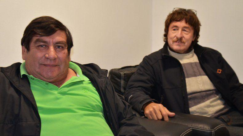 Jorge Rojas y Héctor Bochatey