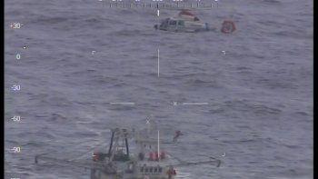 Prefectura rescató en altamar a un pescador con convulsiones