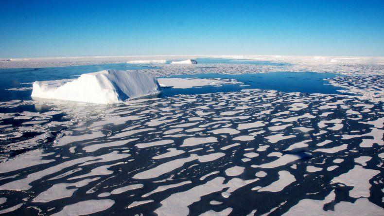 La extensión del hielo en el ártico fue la mínima de la historia