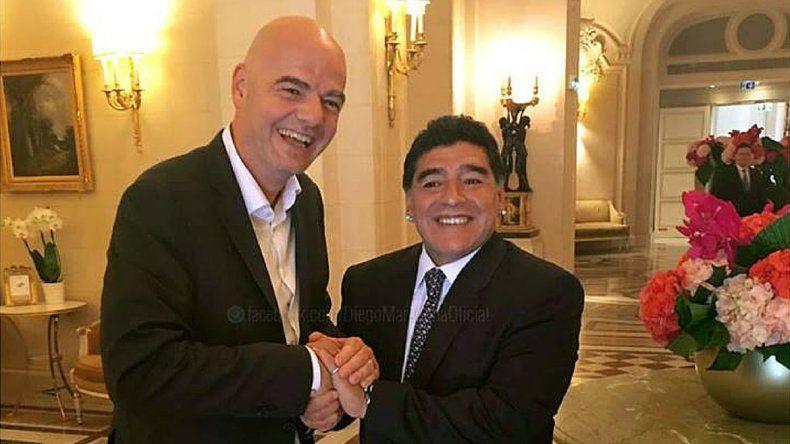 Maradona será veedor de FIFA para supervisar la Súper Liga