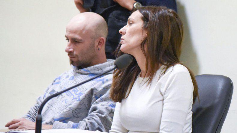 Diego Armando Serrano el último jueves cuando recibió una pena de 12 años en prisión. Ese día el tribunal decidió que continuara libre hasta que la sentencia quede firme.