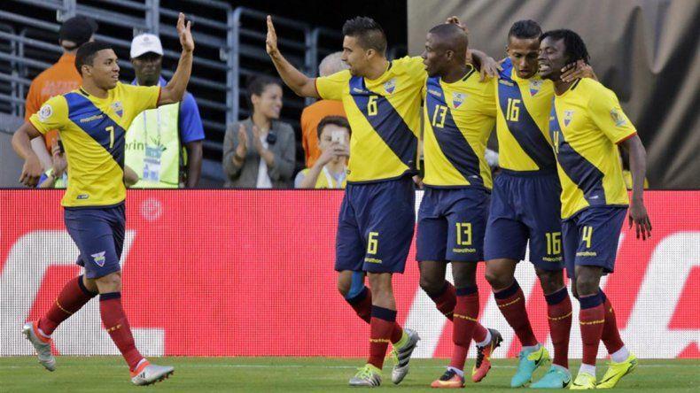 Ecuador derrotó a Haití