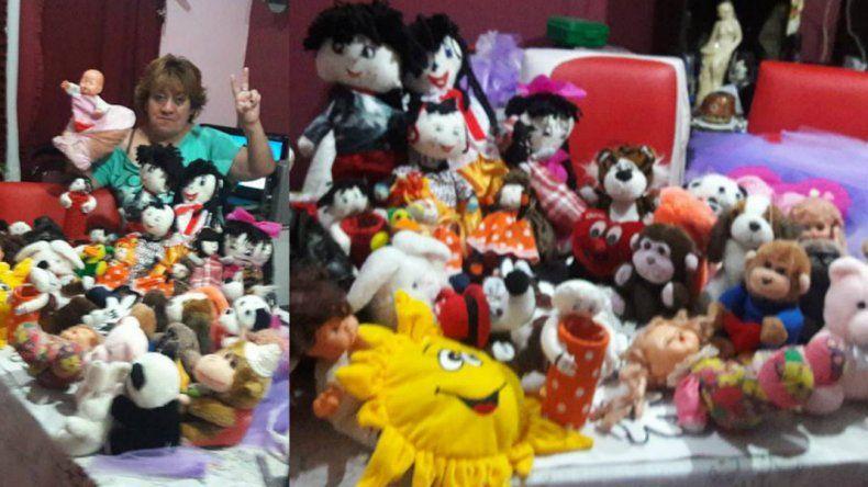 Fabrican juguetes para conseguir 1500 sonrisas